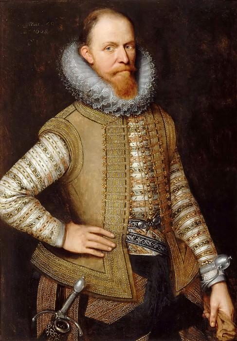 Michiel Jansz. van Miereveld -- Maurice of Nassau, Prince of Orange, Stathouder of Holland (1568-1625). Château de Versailles