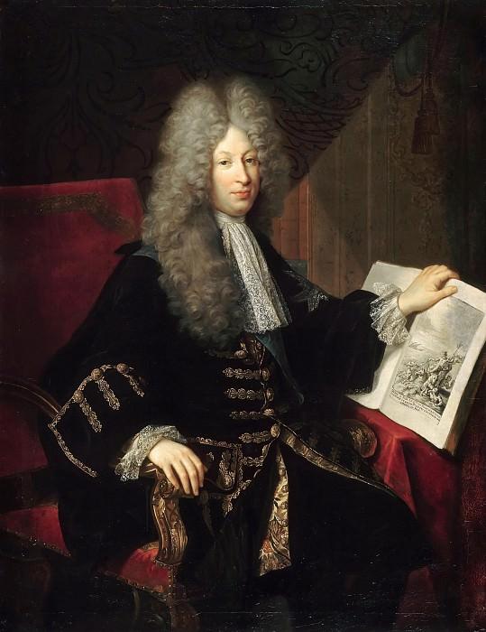 Robert Levrac-Tournières -- Jérôme Phélypeaux, Comte de Pontchartrain, Chancellor of France (Louis Phélypeaux). Château de Versailles
