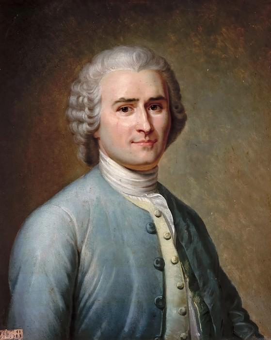 Jean Édouard Lacretelle -- Jean-Jacques Rousseau. Château de Versailles