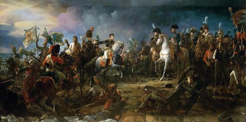 Baron François Gérard -- Battle of Austerlitz, December 2, 1805. Château de Versailles