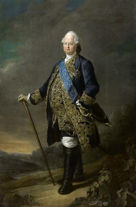 Друэ, Франсуа-Юбер - Луи ле Бурбон-Конде, граф Клермонский. Версальский дворец