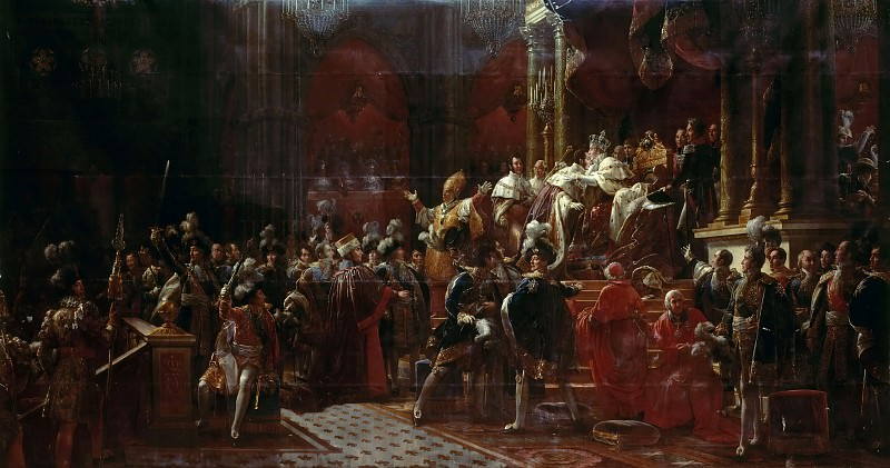Baron François Gérard -- Coronation of Charles X at Reims, May 29, 1825. Château de Versailles