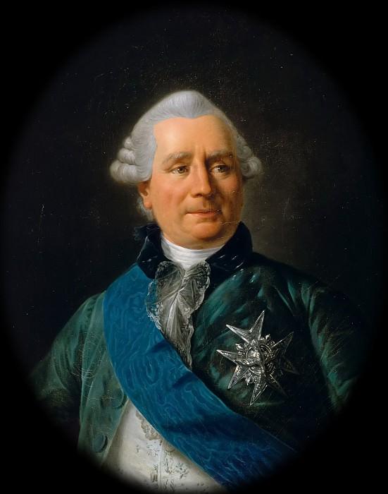 Антуан-Франсуа Калле -- Шарль Гравье, граф де Верженн, министр иностранных дел в царствование Людовика XVI. Версальский дворец
