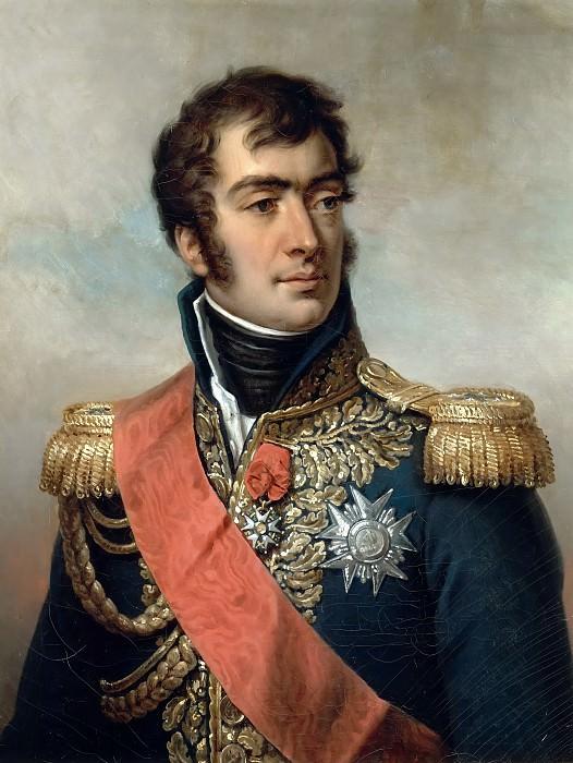 Paulin Guérin -- Auguste Frédéric Louis Viesse de Marmont, duke of Ragusa, Marshal of France, seen in his uniform under the Restoration. Château de Versailles