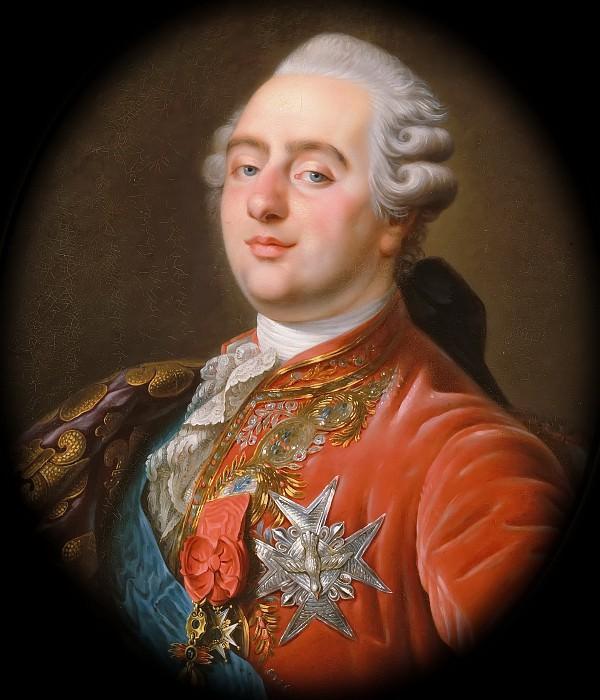 Antoine-François Callet -- Portrait of Louis XVI, King of France and Navarre. Château de Versailles