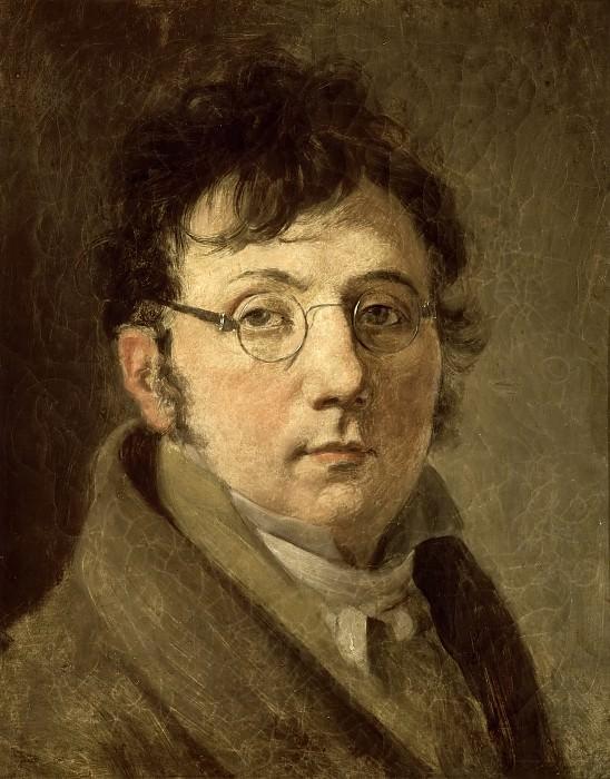 Louis-Leopold Boilly -- Autoportrait. Château de Versailles