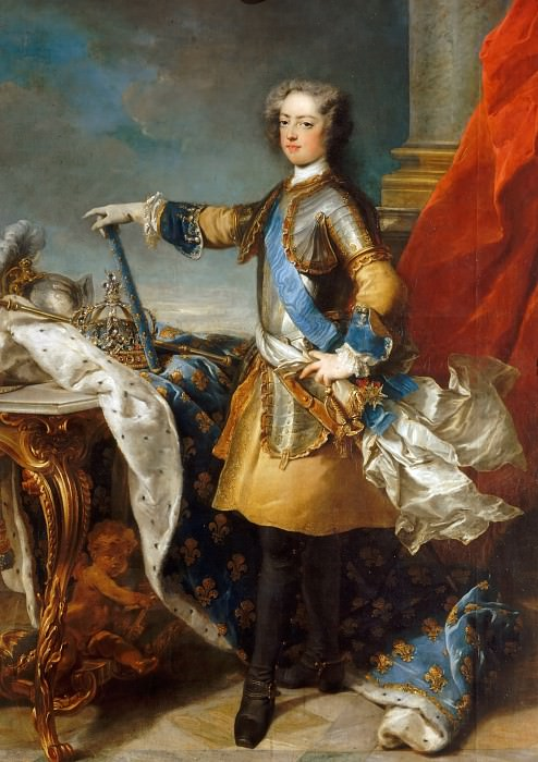 Jean-Baptiste van Loo -- Louis XV, King of France and Navarre (1710-1774). Château de Versailles