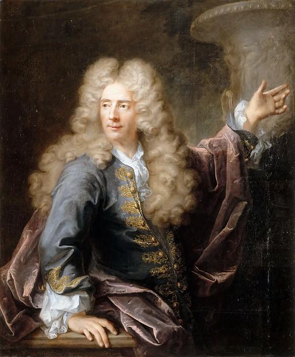 Robert Levrac-Tournières -- Michel Corneille the Younger (Jean Cornu ?). Château de Versailles