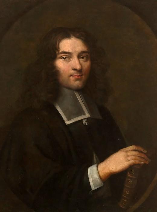 Луи Элль -- Мыслитель Пьер Бейль (1647-1706). Версальский дворец
