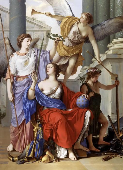 Hyre, Laurent de la -- Allégorie de la Régence d'Anne d'Autriche. Château de Versailles
