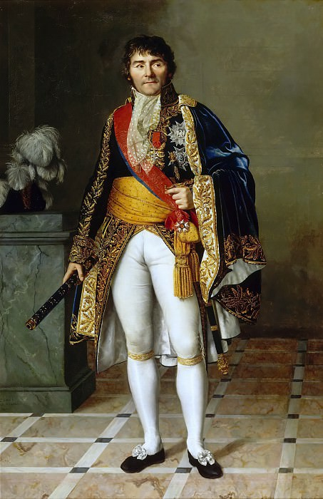 Сезарина-Анриетта-Флора Давен -- Франсуа-Жозеф Лефевр (1755-1820), герцог Данцигский, маршал Франции. Версальский дворец