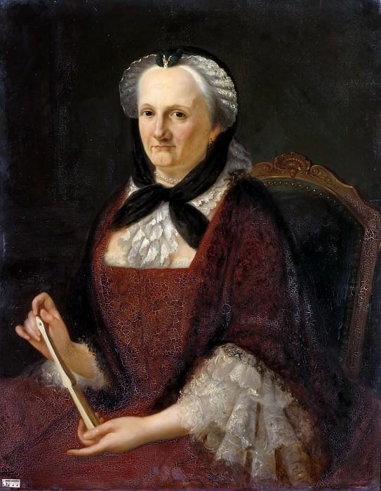 Amélie Cordelier de la Noue -- Madame Geoffrin (1669-1777). Château de Versailles