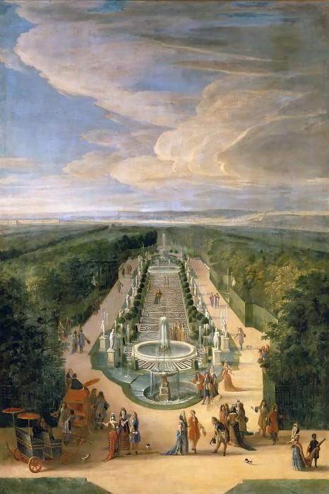 Jean-Baptiste Martin the elder -- La Salle des Antiques (The Hall of Antiquities, Versailles). Château de Versailles