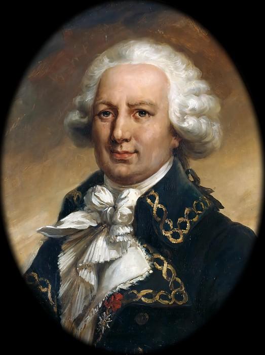 Jean Pierre Franque -- Louis-Antoine, Comte de Bougainville. Château de Versailles