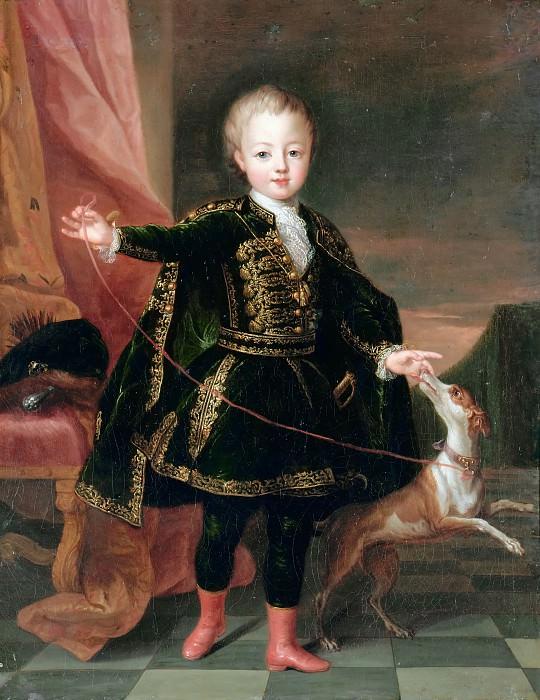 Пьер Гобер -- Леопольд-Клемент, принц Лотарингский. Версальский дворец