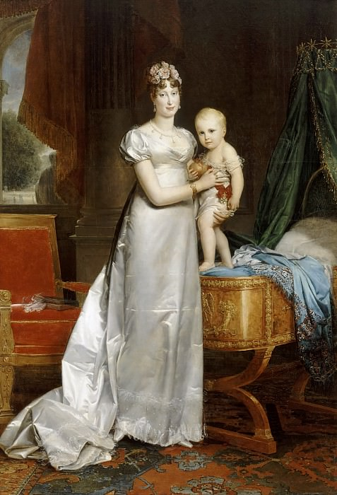 Gérard, François -- Marie-Louise, impératrice des Français (1791-1847) et le roi de Rome. Château de Versailles