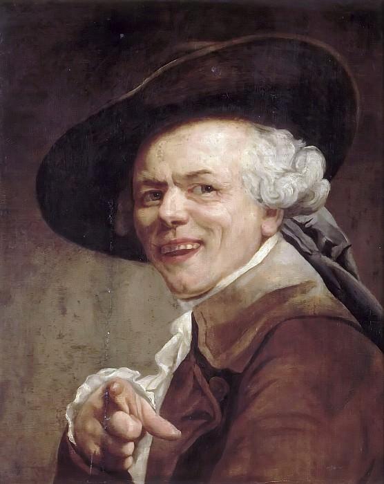 Ducreux, Joseph -- Autoportrait. Château de Versailles