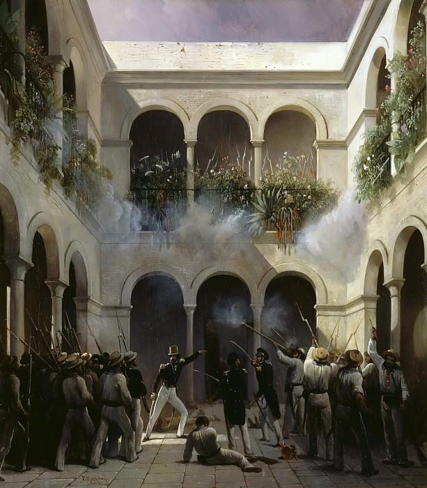 Blanchard, Pharamond -- Attaque de la Vera Cruz par le prince de Joinville, 5 décembre 1838. Château de Versailles
