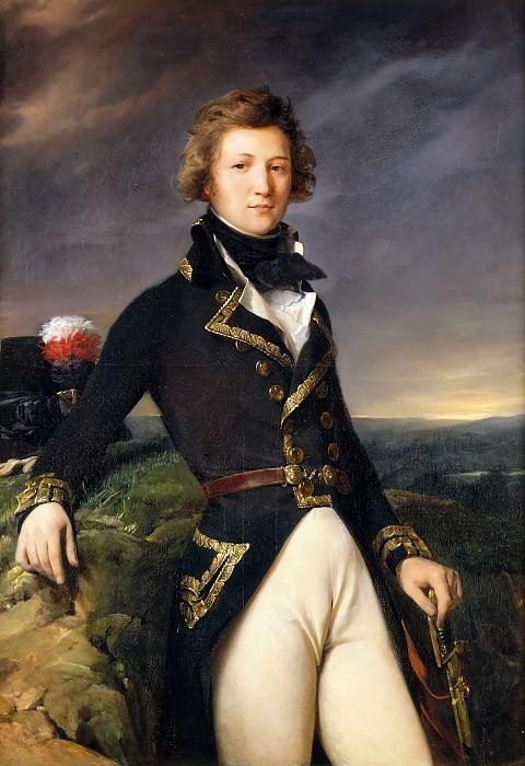 Léon Cogniet -- Louis-Philippe d'Orleans, Duke of Chartres (1773-1850). Château de Versailles