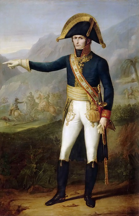 Francois Josephe Kinsoen -- Portrait of Charles Victor Emmanuel Leclerc, General in Chief of the Army of Saint-Domingue. Château de Versailles