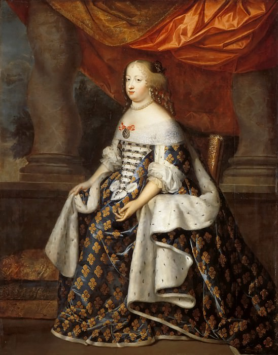 Charles Beaubrun, Henri Beaubrun the Younger -- Marie-Thérèse, Queen of France. Château de Versailles