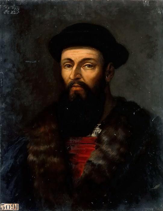 Шарль-Филипп-Огюст Ларивьер -- Фердинанд Магеллан. Версальский дворец