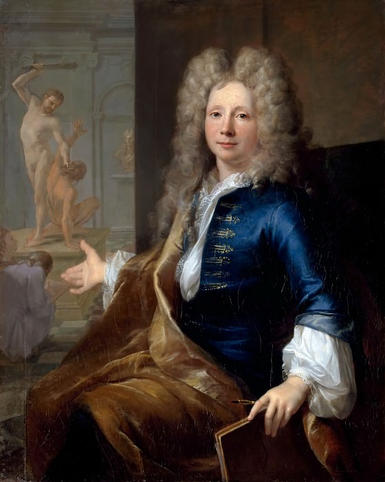 Луи Токе -- Луи Булонь младший. Версальский дворец