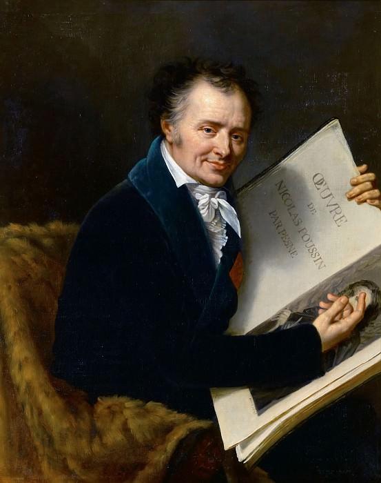 Робер Лефевр -- Доминик Виван (1747-1825), барон Денон. Версальский дворец