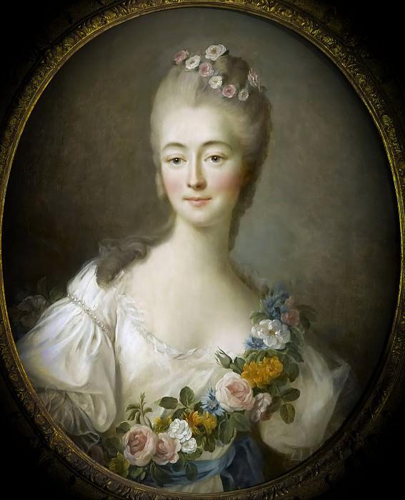 Drouais, François-Hubert -- Madame Du Barry en Flore. Château de Versailles