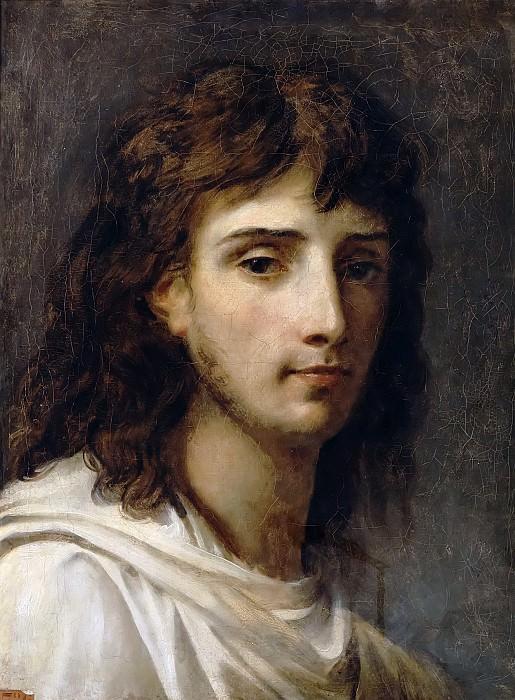 Antoine-Jean Gros -- Self Portrait. Château de Versailles