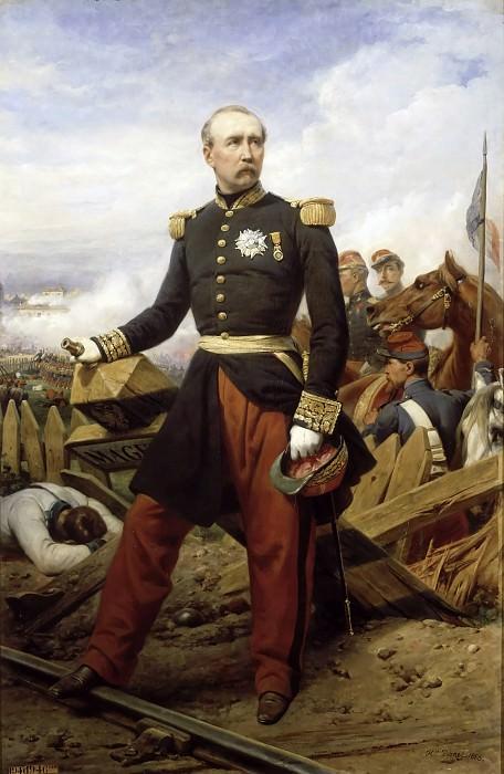Vernet, Horace -- Patrice de Mac-Mahon (1808-1893), duc de Magenta, président de la République. Château de Versailles