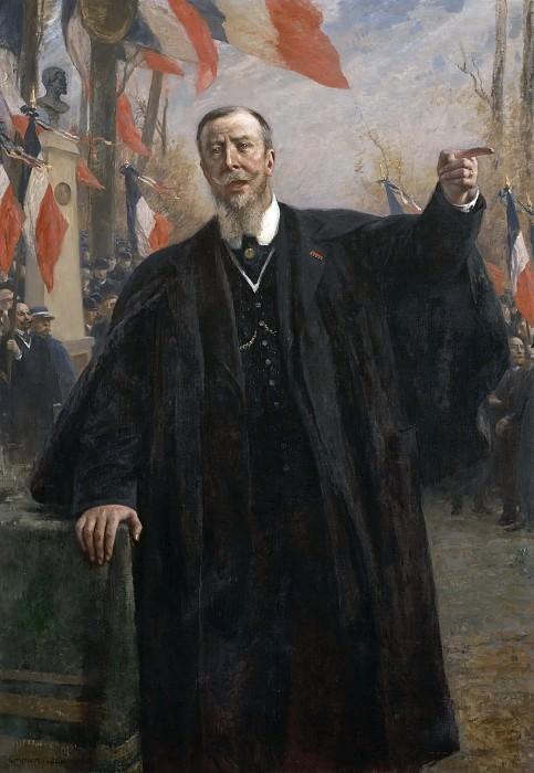 Fernand Cormon -- Paul Deroulede (1846-1914). Château de Versailles