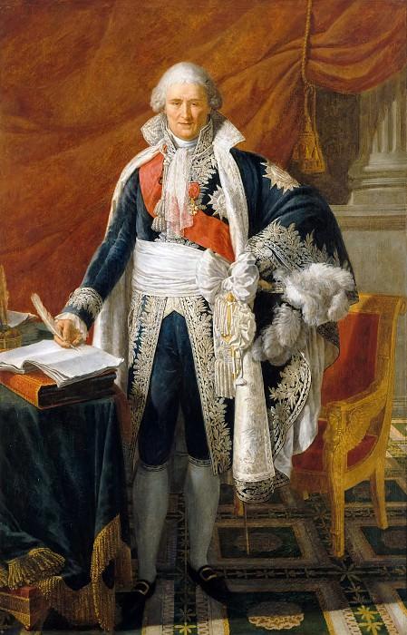 Pierre Gautherot -- Jean-Etienne-Marie, Comte Portalis, Ministre des Cultes. Château de Versailles