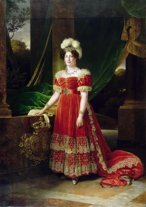 Alexandre-François Caminade -- Marie-Thérèse-Charlotte de France, Duchesse d'Angoulême, Madame Royale. Château de Versailles