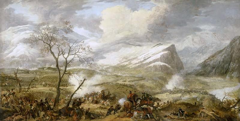 Louis Albert Guislain Baclère d'Albe -- Bataille de Rivoli, 14 janvier 1797. Château de Versailles