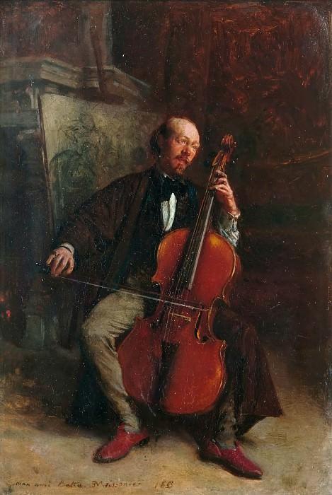 Jean Louis Ernest Meissonier -- Alexandre Batta (1816-1902). Château de Versailles