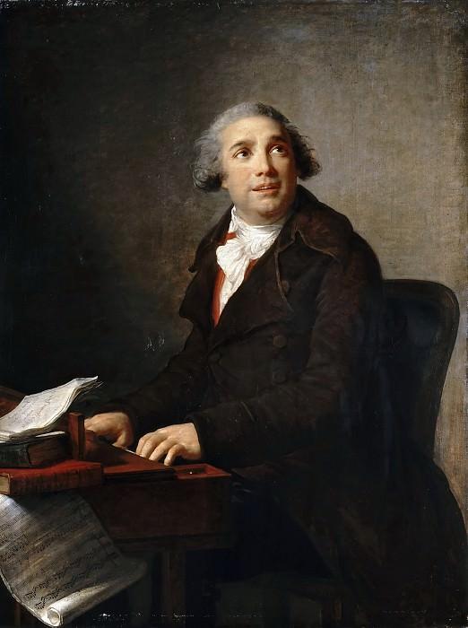 Vigée-Lebrun, Elisabeth-Louise -- Giovanni Paisiello. Château de Versailles