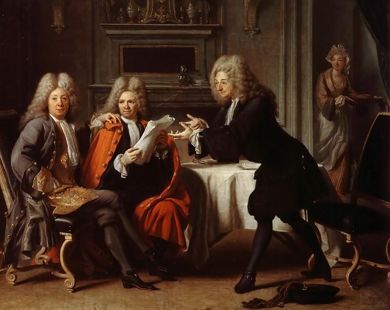 Жак Отро -- Фонтенель, ла Мотт, Жозеф Сорен и мадам де Тенсен. Версальский дворец