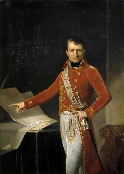 Anne-Louis Girodet de Roucy-Trioson -- Napoleon Bonaparte, Premier Consul (1769-1821). Château de Versailles