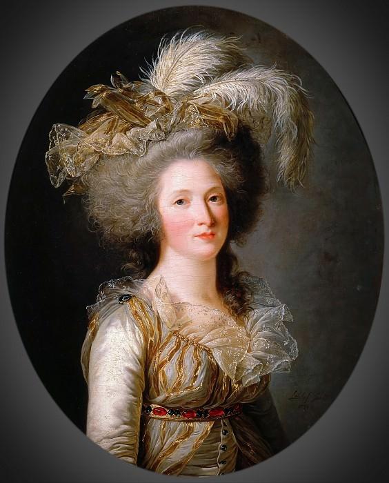 Adélaïde Labille-Guiard -- Élisabeth Philippine Marie Hélène de France, called Madame Élisabeth, Sister of Louis XVI. Château de Versailles