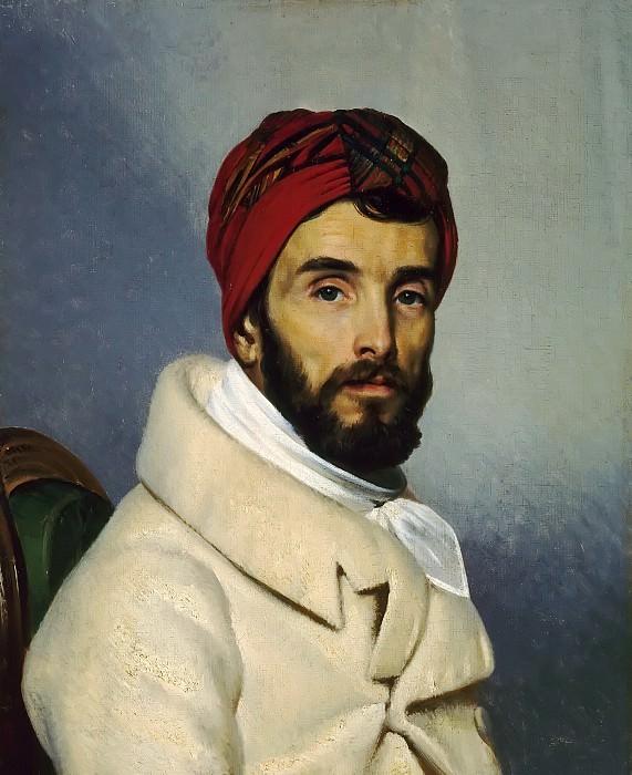 Pierre Guérin -- Baron Pierre Narcisse Guerin (Self Portrait). Château de Versailles