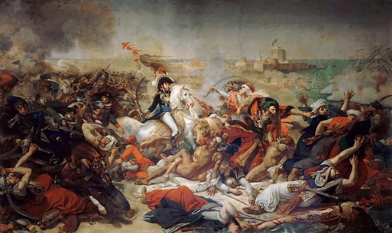 Antoine-Jean Gros -- Bataille d Aboukir, 25 juillet 1799. Château de Versailles