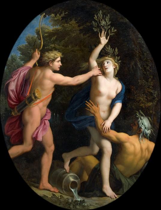 René-Antoine Houasse -- Apollo Pursuing Daphne. Château de Versailles