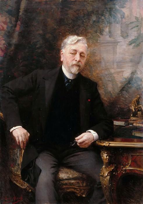 Aimé Nicolas Morot -- Gustave Eiffel (1832-1923). Château de Versailles