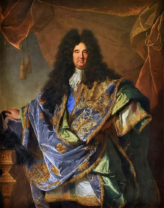 Iasent Rigaud -- Philippe de Courcillon, marquis de Dangeau. Château de Versailles