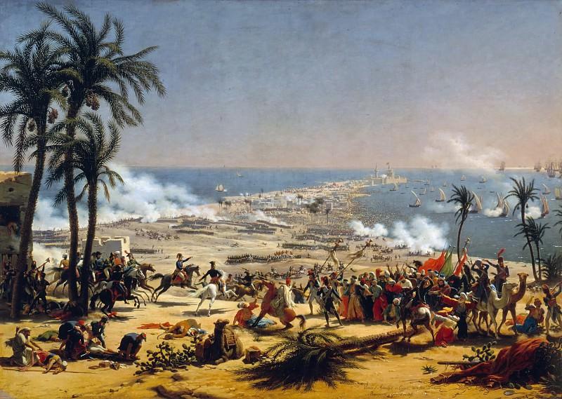 Louis Francois Lejeune -- Battle of Aboukir, 25 July 1799. Château de Versailles