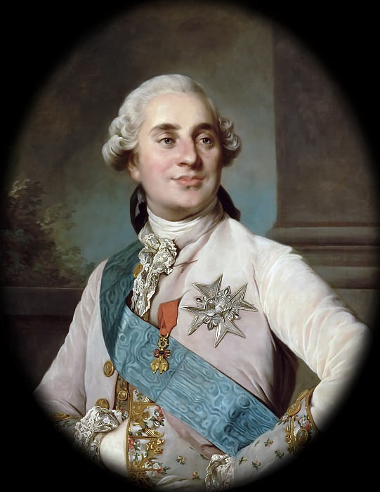 Joseph Siffred Duplessis -- Louis XVI, King of France and Navarre (1754-1793). Château de Versailles