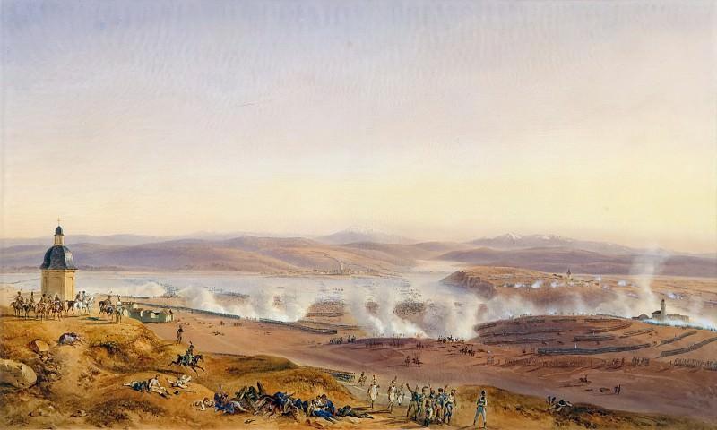 Jean Antoine Simeon Fort -- Panoramic View of the Battle of Austerlitz, December 2, 1805. Château de Versailles