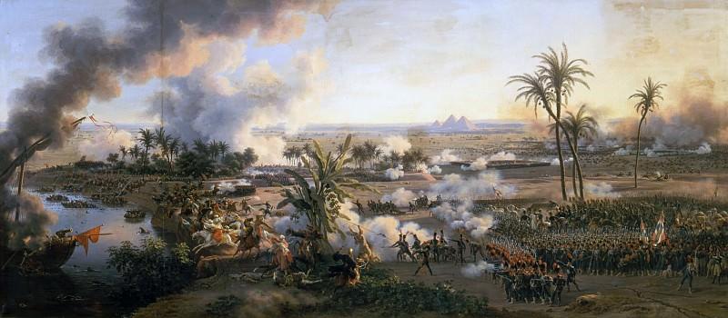 Луи-Франсуа Лежен -- Битва у пирамид. Версальский дворец
