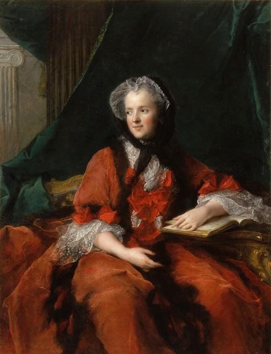Jean-Marc Nattier -- Marie Leczinska, Queen of France (1703-1768). Château de Versailles